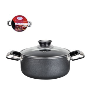 Dutch Oven Aluminum10Qt Nonstick coating, Gray Open stock    643700115881