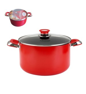 Dutch Oven Aluminum10Qt Nonstick Coating, with Bakelite Hand 643700272416