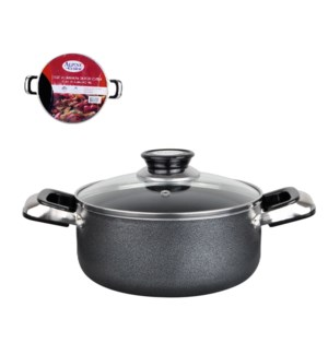 Dutch Oven Aluminum 13Qt Nonstick coating, Gray Open stock   643700182296