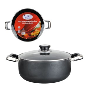 Dutch Oven Aluminum 16Qt Nonstick coating Gray, open stock   643700181770