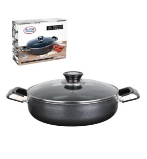 Cooking Pot Low Aluminum 3Qt Nonstick Coating Gray           643700115782