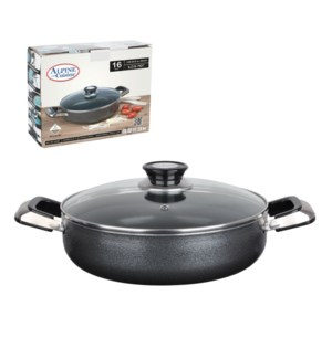 Low Pot Aluminum 8Qt Nonstick coating Gray                   643700043047