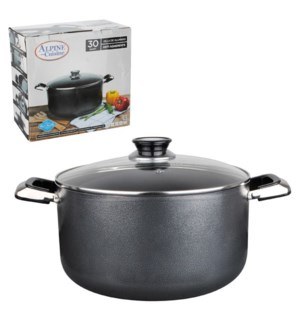 Dutch Oven Aluminum 22Qt Nonstick coating, Gray              643700020338