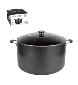 Dutch Oven Aluminum 30Qt Nonstick coating Gray               643700098795