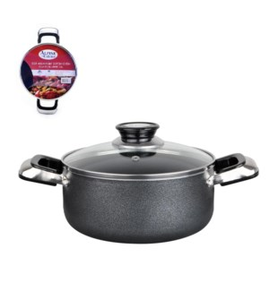 Dutch Oven Aluminum3Qt Nonstick coating, Gray open stock     643700115836