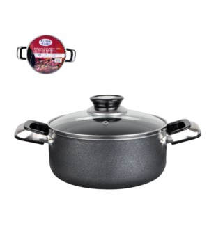 Dutch Oven Aluminum4Qt, Nonstick coating, Gray open stock    643700115843