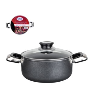 Dutch Oven Aluminum 6Qt Nonstick Coating, Grey Open Stock    643700115867