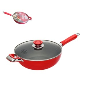Wok Aluminum11in Nonstick Coating, with Bakelite Handle and  643700272423