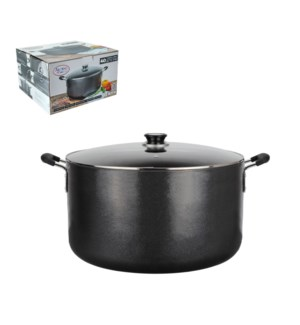 Dutch Oven Aluminum 38Qt Nonstick coating Gray               643700178923