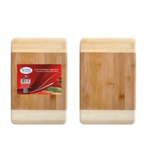 Bamboo Cutting Board 12x8x1in                                643700083555