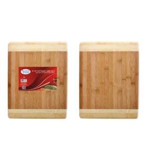 Bamboo Cutting Board 15x12x0.75in                            643700083562