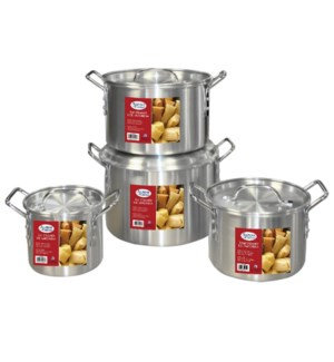 Alu. Stock Pot 2, 3.5, 5, 8 Qt                               643700113986