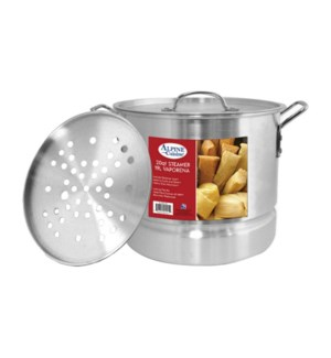 """Alu. Steamer Pot 3pc Set, 20QT""                             643700094049"