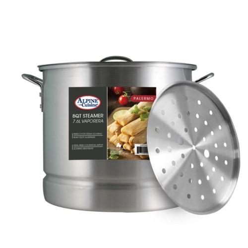 Stock Pot Alum.3pc, 8Qt                                      64370015049