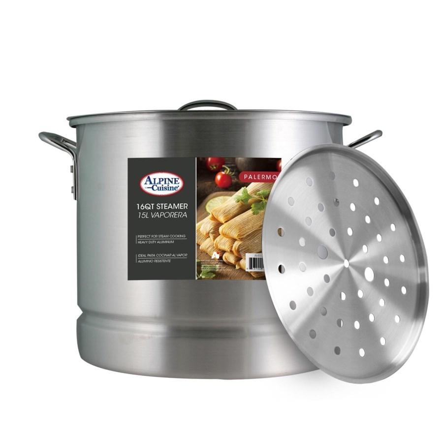 Stock Pot Alum.3pc, 16Qt                                     64370015051