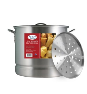 """Alu. Steamer Pot 3pc Set, 32QT""                             643700150547"