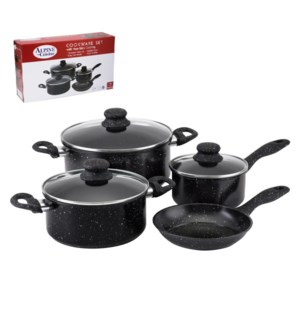 Cookware 7pc set Carbon steel, Nonstick coating with bakelit 643700254764