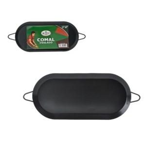 Comal Carbon Steel 17.5inx8.5in Nonstick Coating Oval        975618890055