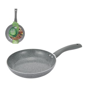 Fry pan 9.5in, 24cm Spatter Ceramic CoatingSoft touch Handle 643700215956