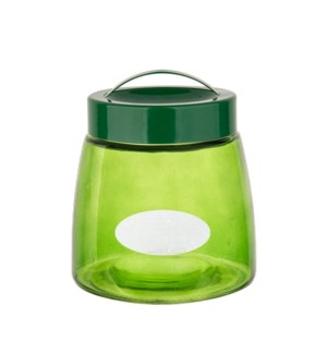 Glass Canister 29Oz Green                                    643700292780