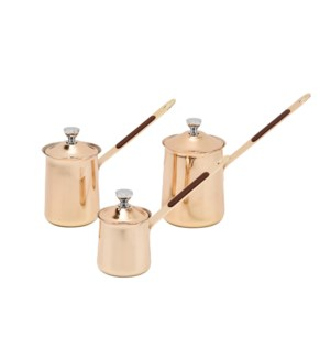 Coffee Warmer 3pc Set Gold                                   643700319715