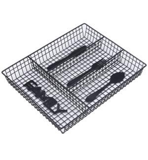Cutlery Tray Organizer 12.5x10x2in                           643700332462