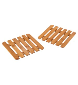 Bamboo Hot Pad 6x6in                                         643700333070