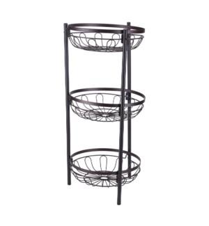 3 tier wire basket stand                                     643700336415