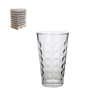 Tumbler 16Oz Glass, 490pc in Pallet Display                  643700272751