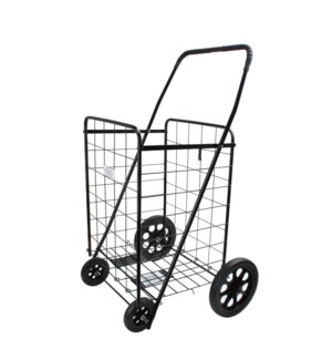 Unassembled Shopping Cart 24x21x41in, 4 Wheels Black         643700145895