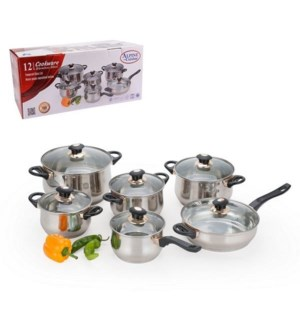 Cookware 12pc SS JUMBO set                                   643700149862
