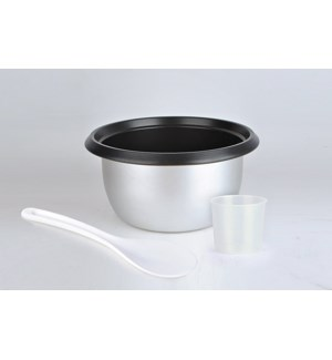Inner Pot with measuring cup and spoon - Rice Cooker 2.5L /  6565