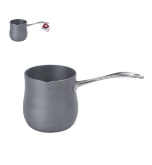 Coffee Warmer Hard Anodiz, Steel Handle. 16oz, Bold          643700158017