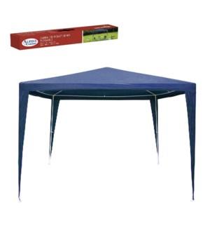 Gazebo Dark Blue Color, PE Folding 10x10ft, 3mx3m w/handle o 643700341051