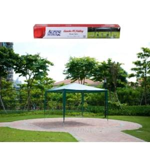 Gazebo Green Color, PE Folding 10x10ft, 3mx3m                643700198051