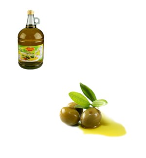 Extra Virgin Olive Oil Glass 3L Al Mashrek                   643700162014