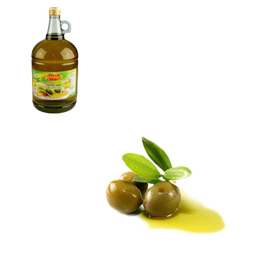 Extra Virgin Olive Oil Glass 3L Al Mashrek                   643700162014