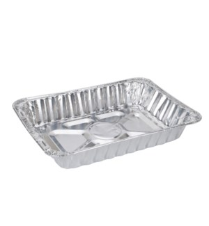 Roaster Pan Aluminum Rectangular 17x12.5x3in 65 gram         643700164612
