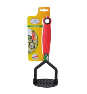Potato Presser, Nylon, 27x10.2cm, TPR and PP handle          643700166746