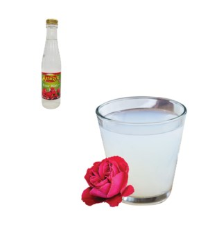 Rose Water Glass 250mL Al Mashrek                            643700171016