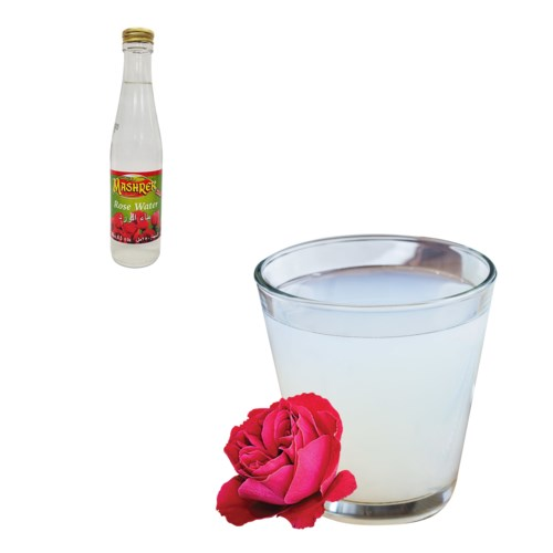 Rose Water Glass 250mL Al Mashrek                            643700171016