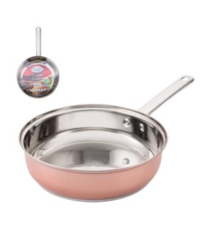 Fry Pan SS 8.5in Belly Shape Rose Gold                       643700269812