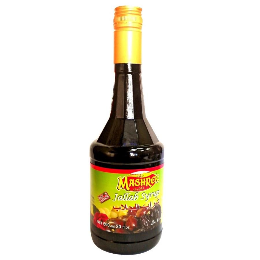 Jallab Syrup Glass 600mL Al Mashrek                          643700176301