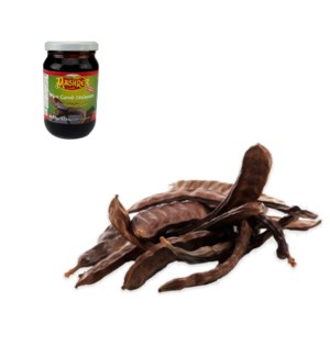 Carob Molasses Glass 400g Al Mashrek                         643700176356