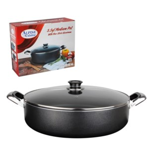 Medium Pot Aluminum 13Qt Nonstick Gray                       643700179005