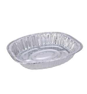 Roaster Pan Aluminum Oval 18x14x3.5in 65 gram                643700181022