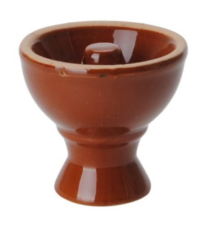 Ceramic Bowl, dia.6.5x6.8cm, brown                           643700183354