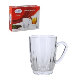 Tea Glass 6pc set 8oz                                        643700184115