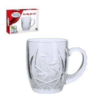 Tea Glass 6pc set 9.8oz                                      643700184139