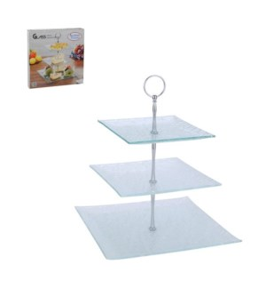 Glass Tray 3 pc set                                          643700185457